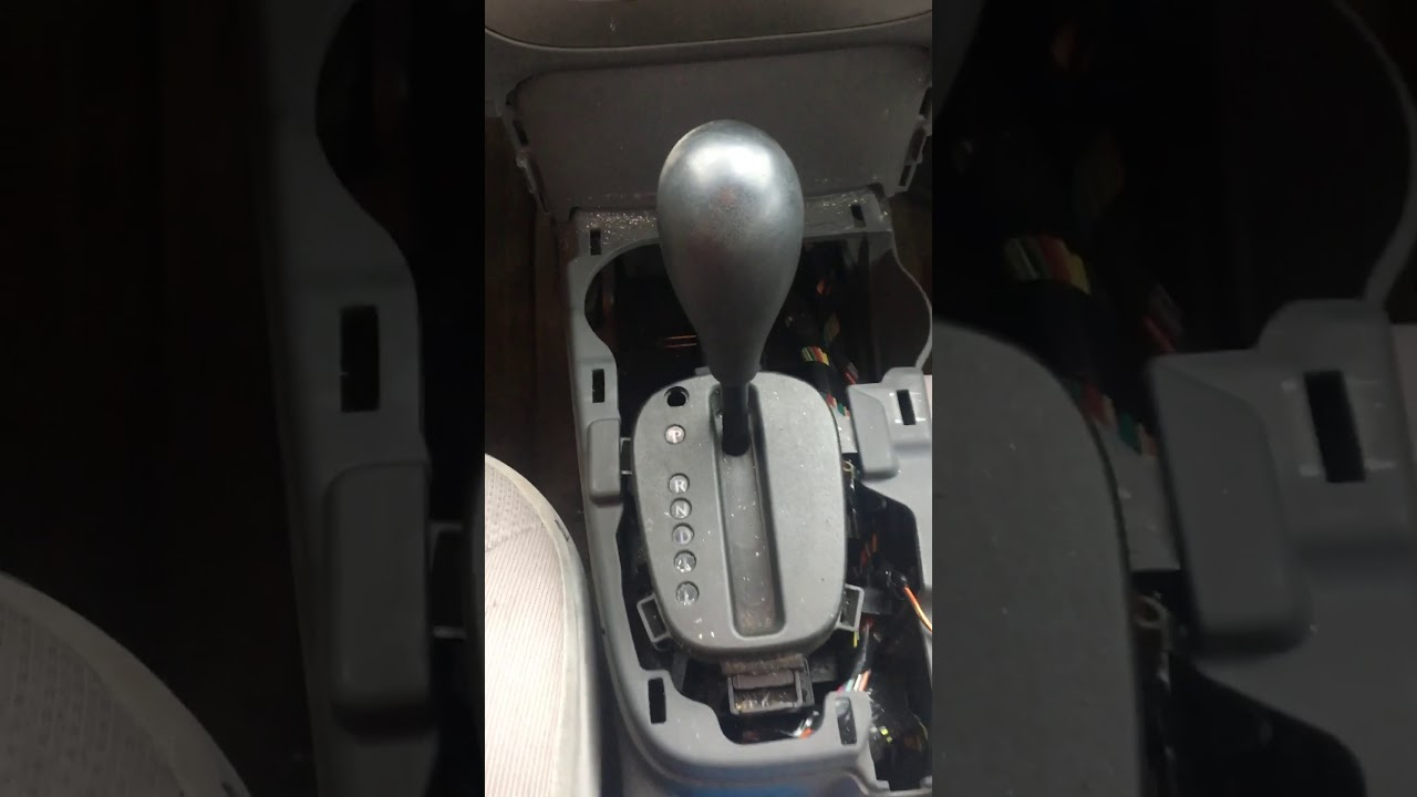 Saturn Ion 2003 Won't shift out of park PROBLEM FOUND!