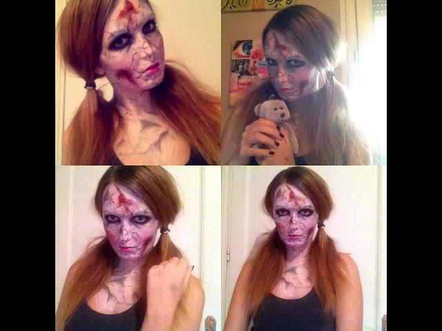 Halloween : Craked Porcelain Doll
