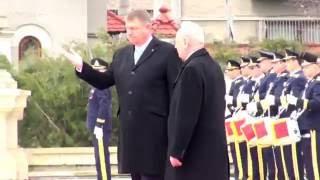 Ceremonia oficiala de primire a Presedintelui Republicii Moldova, Nicolae Timoft...