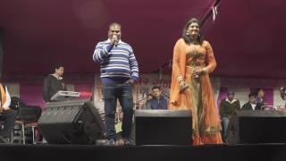 निशा उपाध्याय लाइव शो  2017 // New Bhojpuri Stage Show // Hot Dance Show