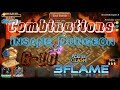 Combinations - 3Flame Insane Dungeon 6-10 Castle Clash