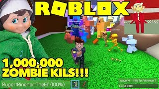 #1 GAME 2019 ROBLOX ZOMBIE RUSH : ELF ON THE SHELF PLAYS ROBLOX ZOMBIE RUSH