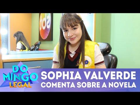 Sophia Valverde fala de alguns personagens de 'As Aventuras de Poliana' | Domingo Legal (29/07/2018)