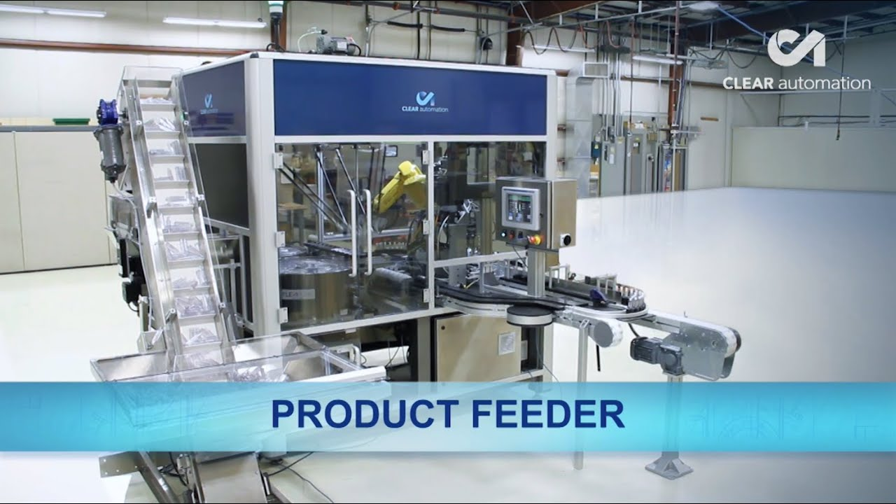 Automated Product Feeder Uses Two Fanuc Robots For Bottle