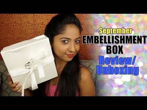 Embellishment Box | Unboxing & Review | Jewelry Box INDIA
