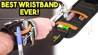Magnetic Wristband for tool - Best Gadgets Put to The Test