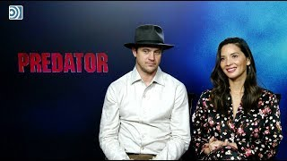 Entrevista a Olivia Munn y Boyd Holbrook por 'Predator'