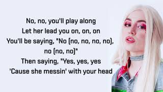 Ava Max - Sweet but Psycho - Lyrics Video