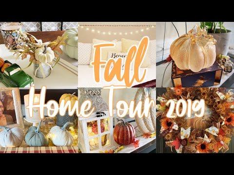 FALL HOME TOUR 2019 :: FALL DECORATING IDEAS
