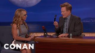Dr. Jennifer Berman Teaches Conan About Chakrubs  - CONAN on TBS