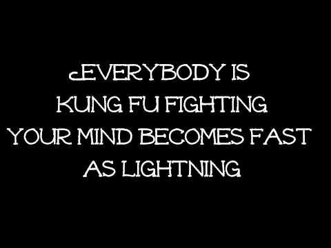 Kung Fu Fighting Lyrics Kung Fu panda movie