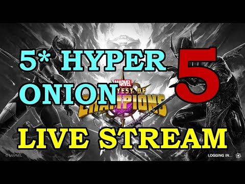 5-Star Hyperion Grinding - Part 5 | Marvel Contest of Champions Live Stream