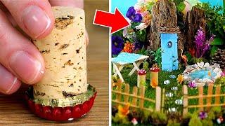 4 Whimsical DIY Miniature Fairy Garden Ideas
