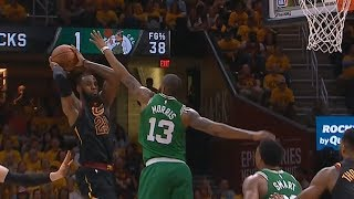 LeBron James Pass To JR Smith Is Unbelievable! Cavaliers vs Celtics Game 3