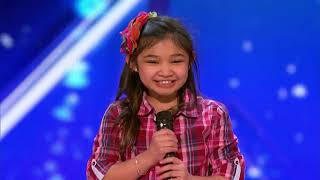 America got talent- speechless Audition-: Angelica Hale!!! Video