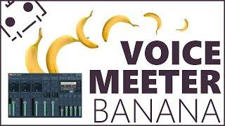 Voicemeeter Banana + Teamspeak | So wird es richtig gemacht! | Tutorial German