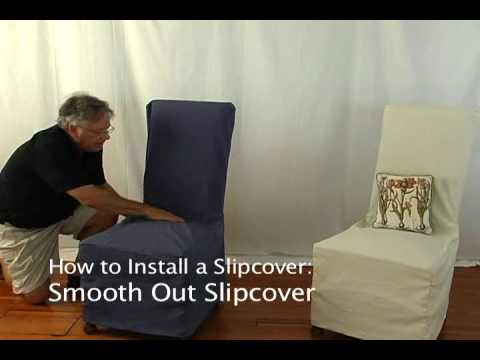 how-to-install-a-slipcover-on-a-dining-room-chair-•-stretchandcover.com