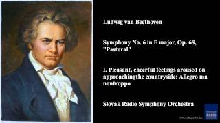 "Ludwig van Beethoven, Symphony No. 6 in F major, Op. 68, ""Pastoral"""