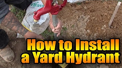 How to Install a Water Hydrant