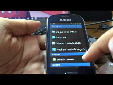 Samsung Galaxy Fame (S6810) Blue - Unboxing y comportamiento en español