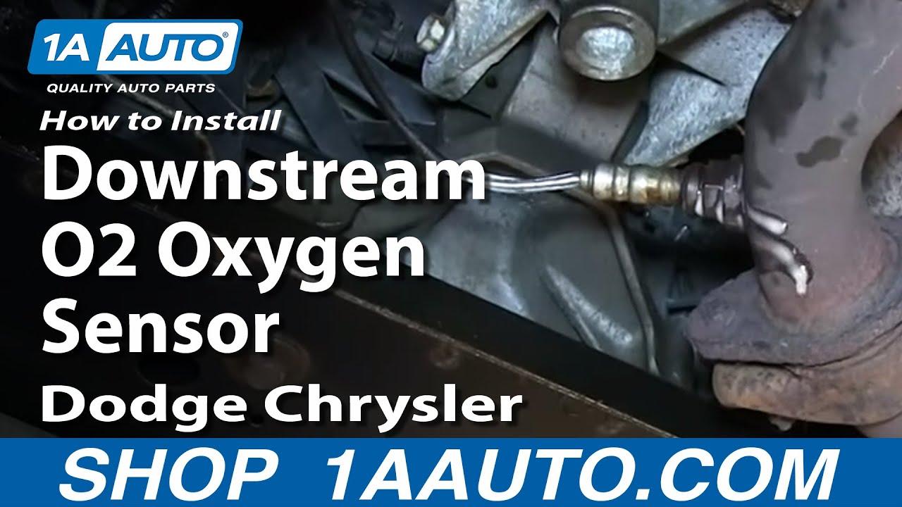 Hemi 5 7 Engine Wiring Harness How To Replace O2 Sensor 97 04 Chrysler Sebring Youtube