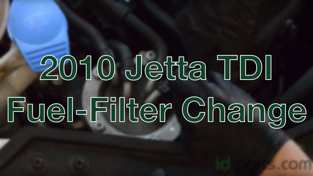2010 Jetta TDI - Fuel Filter Change How-To - YouTubeYouTube