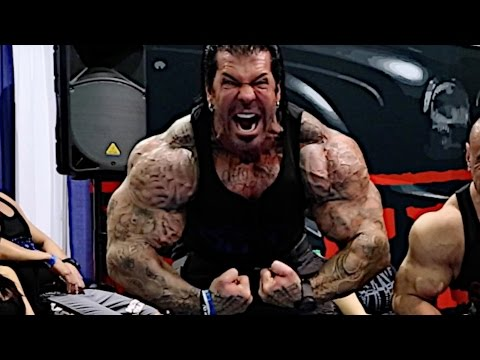 THE SECRET TO GETTING BIG Rich Piana