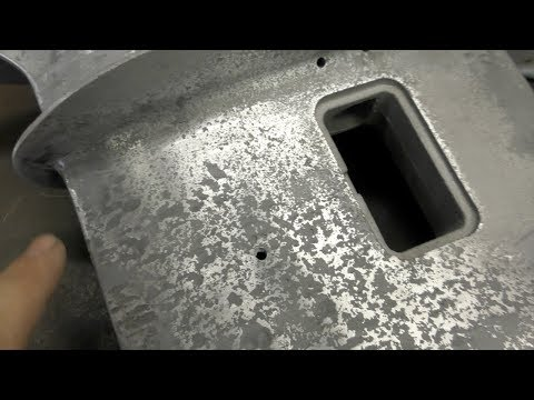 Painting an outboard lower unit