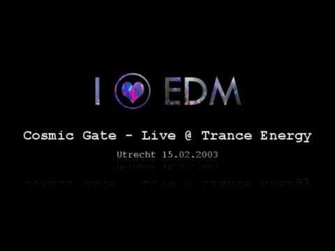 Cosmic Gate - Live @ Trance Energy, Utrecht 15.02.2003