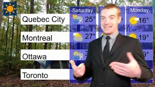 Victoria Day Weekend Forecast
