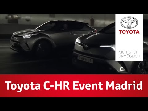 """Toyota """"Urban Reflection"""" Event in Madrid"""