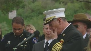Aurora Fire Department Chief cries while talking about verdict in theater shooting penalty phase