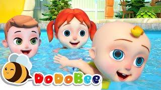 Swimming Song + DODOBEE Nursery Rhymes  Kids Songs - CARTOON,BABY SONG