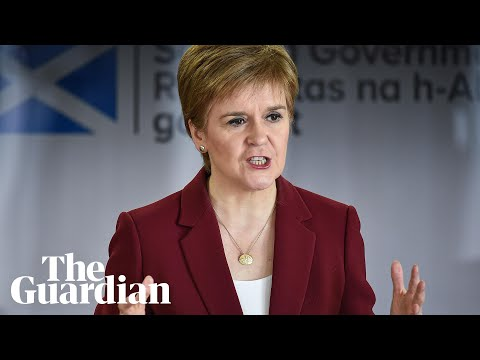 Coronavirus: Nicola Sturgeon Gives Update On Outbreak In Scotland - Watch Live