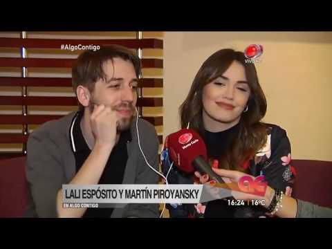 Algo Contigo - Lali Espósito y Martín Piroyansky 16 de Agosto de 2016