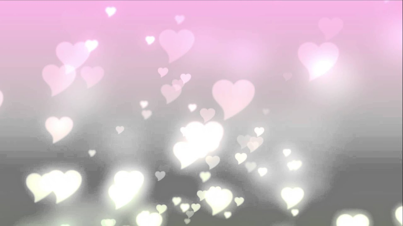 Bokeh Heart Shape Of Light Background Stock Footage Video: Free Stock Video Footage