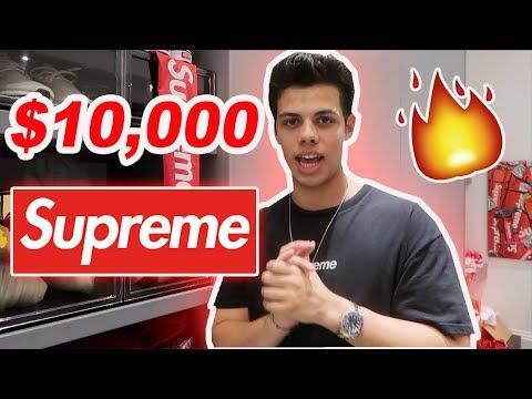 Crazy $10,000! Supreme Latest Pick Up's  HypeBeast Heaven !