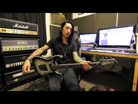 Black Veil Brides - Shadows Die Guitar Lesson with Jake Pitts