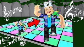 ROBLOX: THE OLD MAN TAUGHT THE GIANTS TO DANCE!!