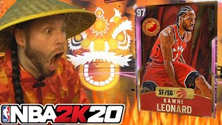 I celebrated Chinese New Year on NBA 2K20