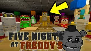 Minecraft Switch - Super Mario Five Nights at Freddy's - FAMILY DINNER! [1]