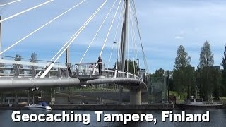Geocaching Tampere, Finland