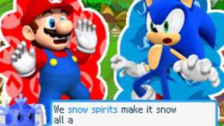Mario and Sonic at the Olympic Winter Games DS [Adventure mode] playthrough [Part 1]