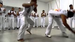 Mestre Suino e Contramestre Casagrande - Grupo Candeias de Capoeira