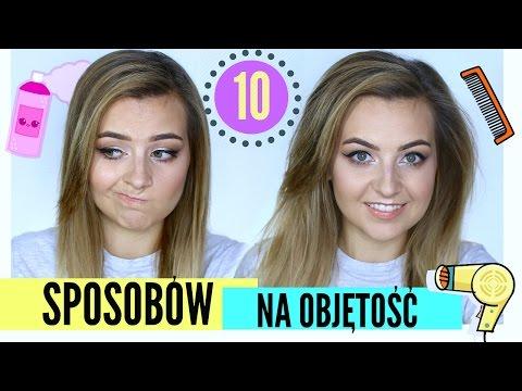 10 Sposobów Na Objętość Włosów Lamakeupebella Youtube