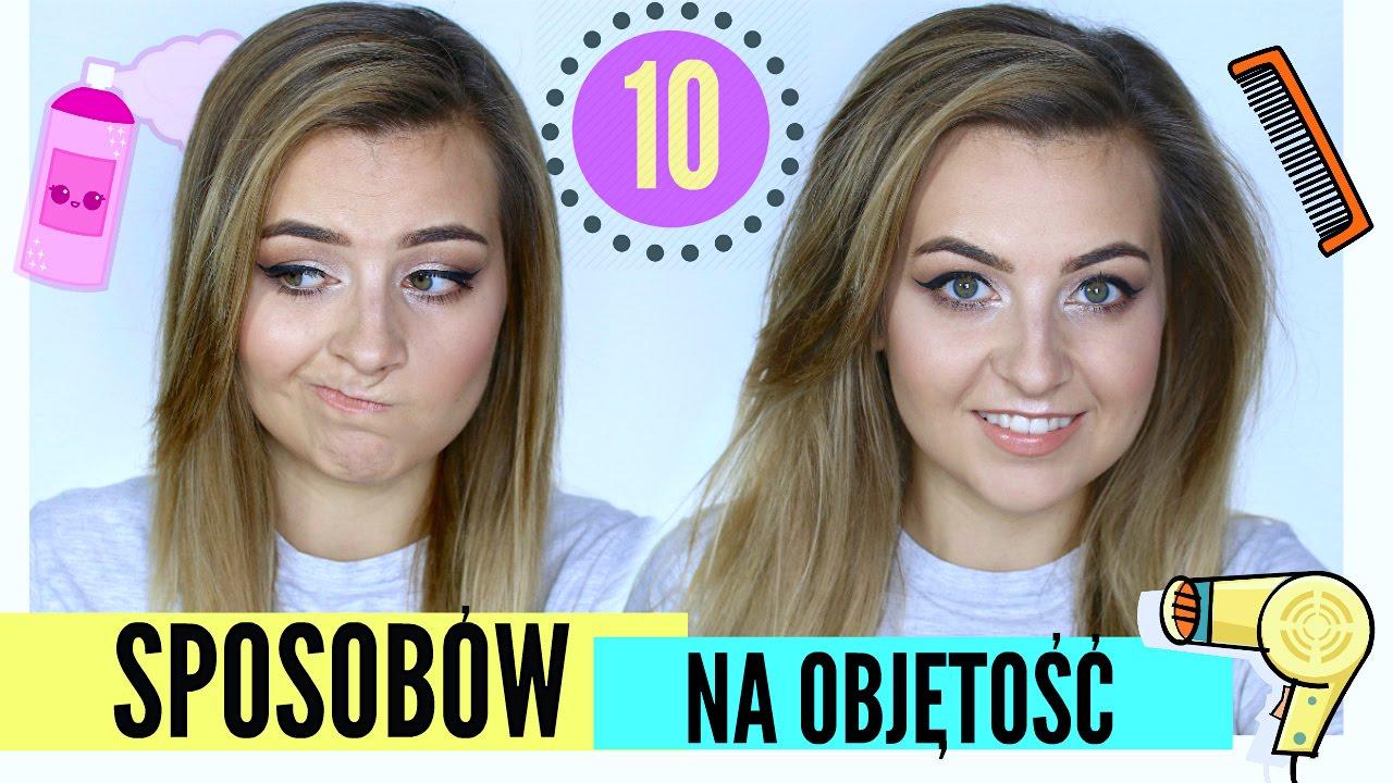 10 Sposobów Na Objętość Włosów Lamakeupebella