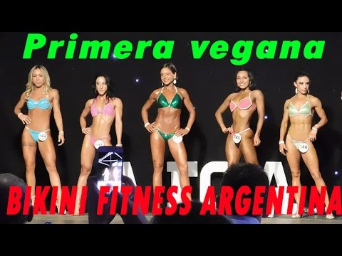 Pionera Vegana bikini fitness de Argentina 2016|No pain All gain tv|