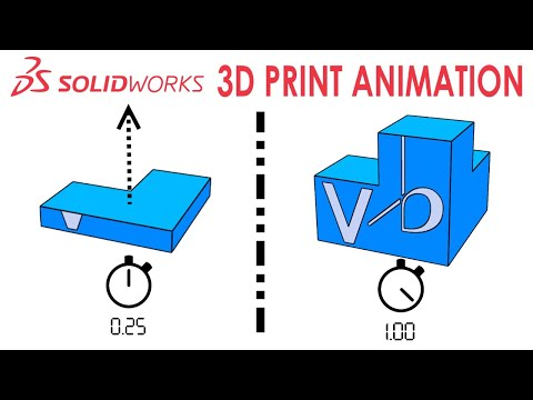 3D PRINT ANIMATION IN SOLIDWORKS - IN-CONTEXT MODELING - TUTORIAL thumbnail
