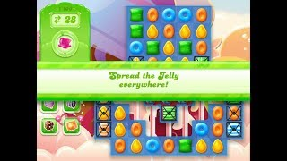 Candy Crush Jelly Saga Level 1106 (3 stars, No boosters)