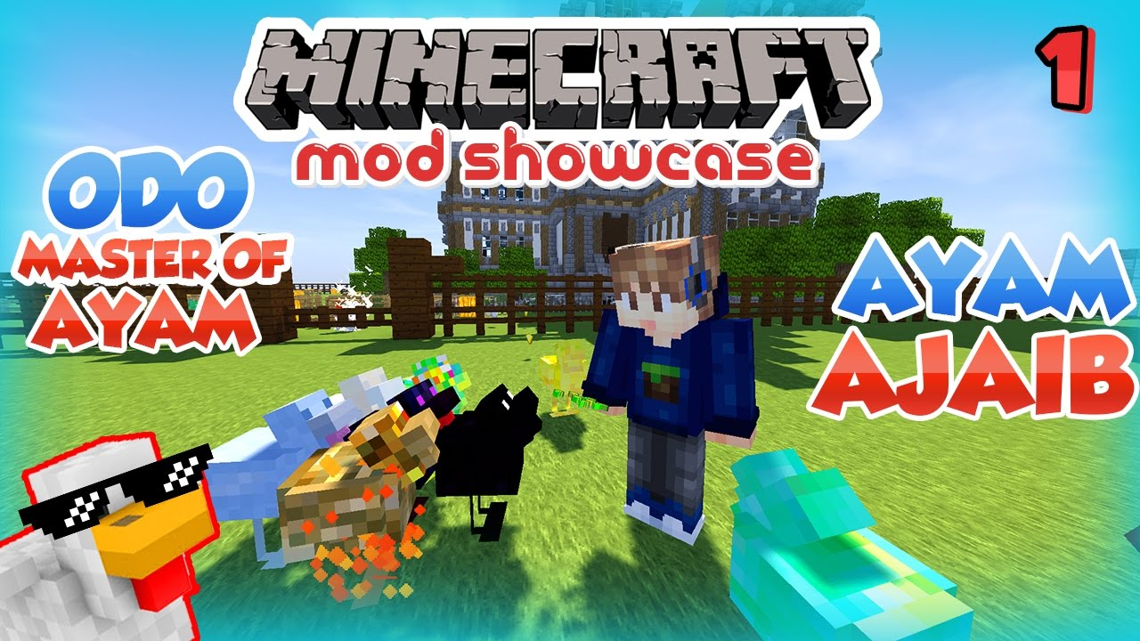 Odo Master Of Ayam Minecraft Mod Showcase Indonesia